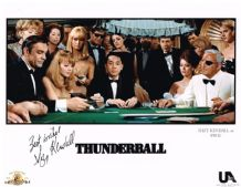 Suzy Kendall Autograph Signed Photo - Thunderball